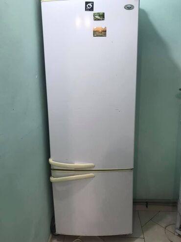 инструменты в Кыргызстан: Б/у Двухкамерный Белый холодильник Минск