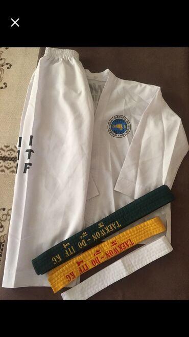 спортивный в Кыргызстан: Продаю форму Taekwondo ITF