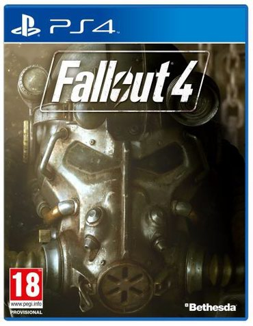 Bakı şəhərində Ps4 ucun Fallout 4 oyunu bagli upokovkada