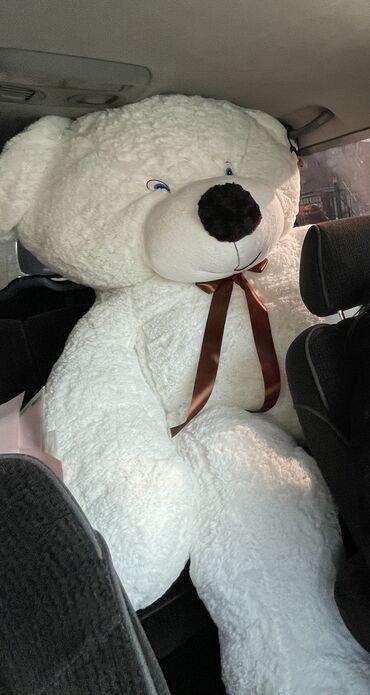 шредеры 9 компактные в Кыргызстан: Продаю новую плюшевую мишку белого цвета. Размер: 1,9 м. Торг уместен