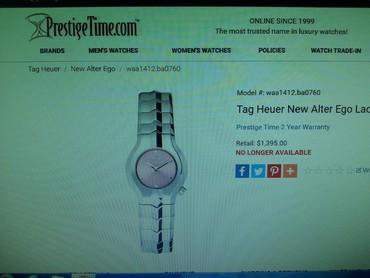 jelektronnyj kaljan ego ce5 в Кыргызстан: Продаю швейцарские часы, состояние как новое, ни одной царапины Tag H