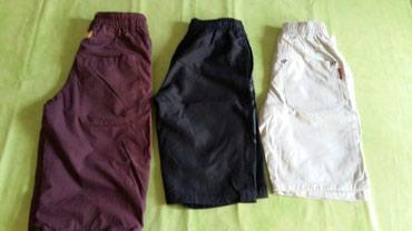 Kratke pantalone za dečake vel.6god(polovne i očuvane).Sva 3 para za - Petrovac na Mlavi