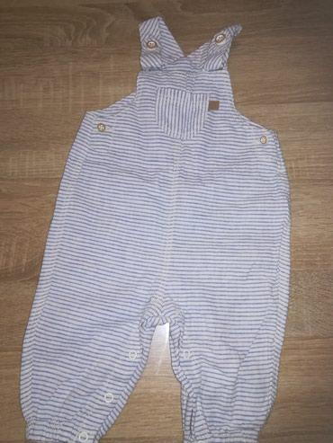 Farmerke na tregere - Srbija: Letnje pantalone na tregere H&M, unisex, uzrast 2-4 meseca, broj