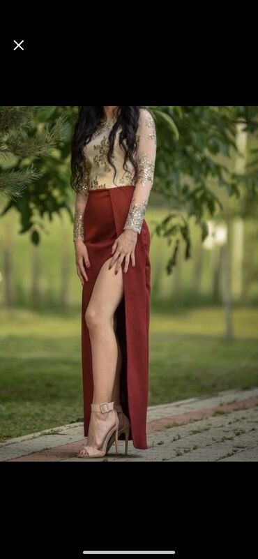 Haljinica s - Srbija: Šivena haljina po meni ali pripada s/m veliciniSa prelepom