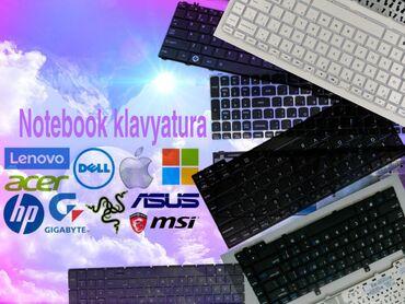 Notebooklar üçün klaviaturalarQiymətlər modelə görə dəyişir