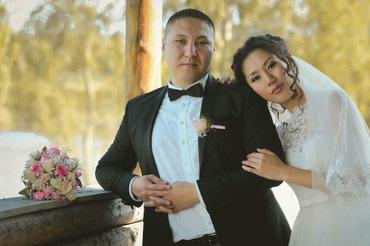 наволочки из атласа в Кыргызстан: Свадебное платье на прокат.Сдается очень нежное свадебное платье