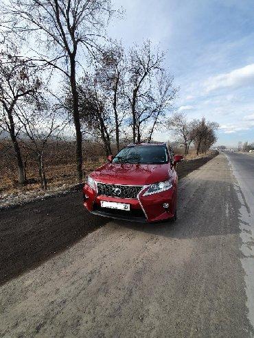 желтый lexus в Кыргызстан: Lexus RX 2009