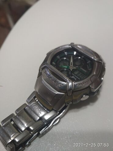 Прозрачные решетки на окна цена - Кыргызстан: Серебристые Унисекс Наручные часы Casio