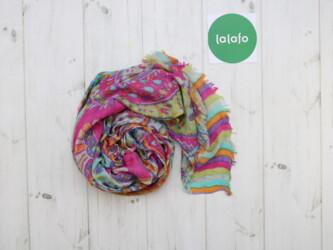 Аксессуары - Украина: Жіночий шарф     Довжина: 176 см Ширина: 64 см  Стан: задовільний