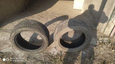 225 50 17 зимние шины в Кыргызстан: Меняю, продаю шины зимние бронированный 225/50/17 на 215/65/16