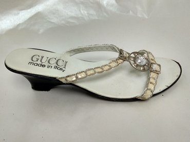 Akcija - GUCCI - Br. 37 PAPUCE Made in Italy - Beograd