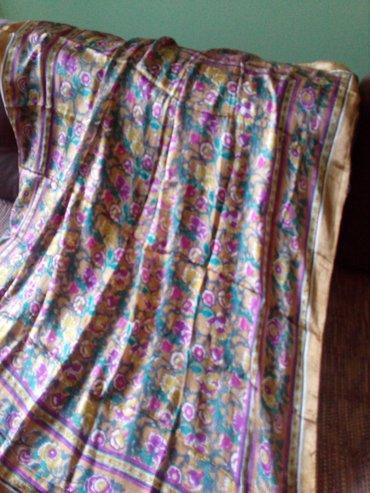 Marama svilena vel.100 x 100 cm., veoma lepa,  nova. - Valjevo