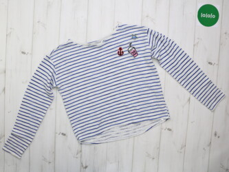 Детская кофта в полоску H&M     Длина: 47 см Рукава: 48 см Пог: 43