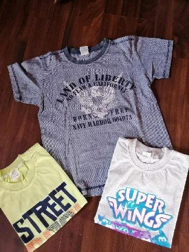 Očuvane majice za dečaka, veličina 10. Cena je za ceo komplet - Ruma