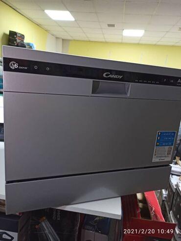 Техника для кухни - Кыргызстан: Продаётся новая посудомоечная машина candy cdcp 6/e-s: a+, 8см 6