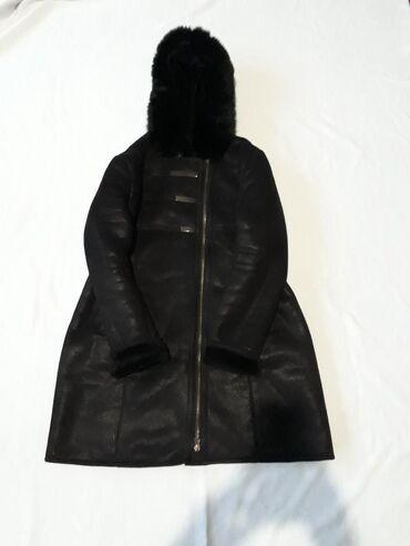 платье из штапеля большого размера в Кыргызстан: Дублёнка большого размера, примерно 50 - 52 го. Состояние хорошее.  2