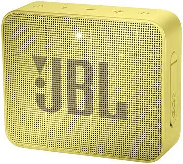 Блютуз колонка JBL GO 2 (с водозащитой)-НОВАЯ- цвет желтый ***Торгуемо