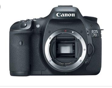 Продаю фотоаппарат canon 7d бади в Бишкек
