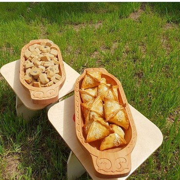 Деревянные тарелки для горячих блюд. в Бишкек