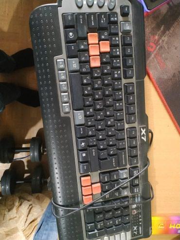 Игровая мембранная клавиатура A4tech x7 g800v в Бишкек