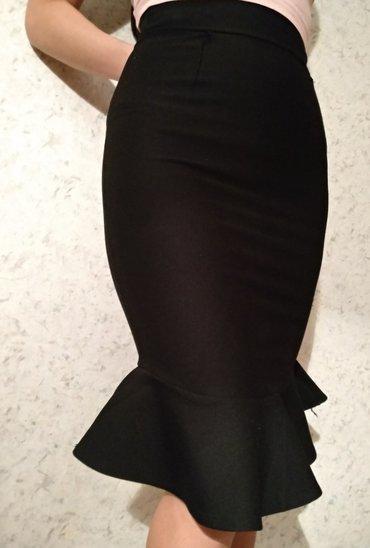 Новая стильная черная юбка из в Бишкек