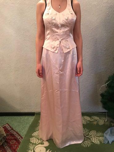 туника из турции в Кыргызстан: Шикарное платье из натурального атласа усыпанный камнями ручной работы