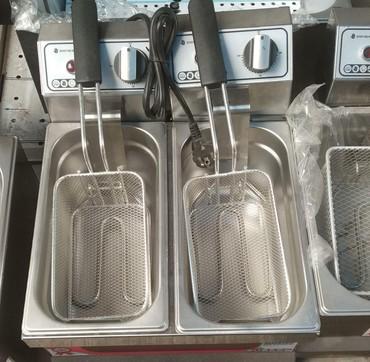Tovuz şəhərində Kartof fri bişiren, 3+3litr,Mars turk mali,her lirtde bar,peşakar