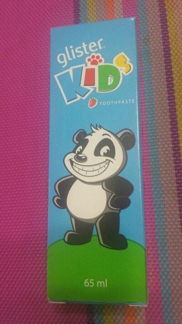 Детская зубная паста Glister со вкусом в Бишкек