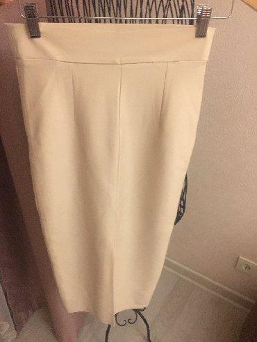 длинную юбку в Кыргызстан: Продаю абсолютно новую стильную трикотажную юбку карандаш на высокой п