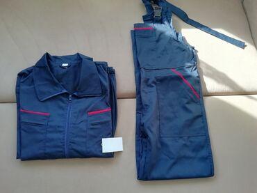 Bez pantalone broj - Srbija: Novo radno odelo br 56. bluza i pantalone . veličina 56