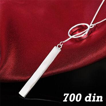 Ogrlica - Srebro 925 Poseduje žig