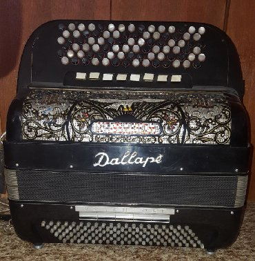 Harmonike | Srbija: Harmonika Dallape 120 basova, original Bugarijevi tonovi