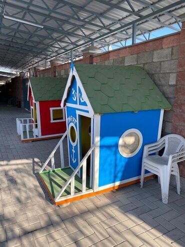 Продаю уличные домикив хорошем состоянии,заказывали для себя обошлос