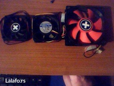 Tri nova ventilatora za kuciste kompjutera marke xilence 80x25mm , - Bela Crkva