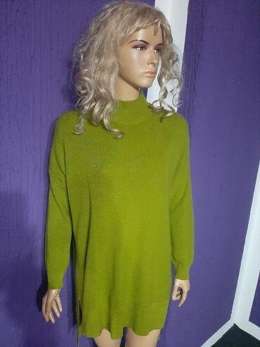 Paket obodi majice i jedne kosulje lepo odrzane - Srbija: Prelep tunika dzemper,asimetrican i moderan l vel