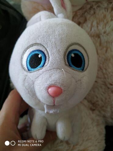 детские игрушки 3 в Кыргызстан: Продаю детские игрушки, все отличного состояния. Олень и кролик по