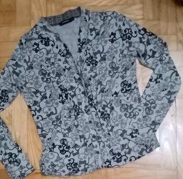 Prelep pamučni bluzon, u zemljanim bojama malo strukiran, lepo prati - Belgrade