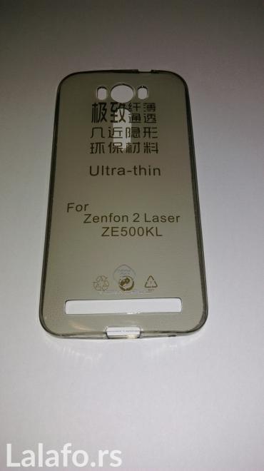 Asus-zenfone-5-lte-16gb - Srbija: Silikonska torbica (maska) za Asus Zenfone 2 laser (ze 500kl)Maske su