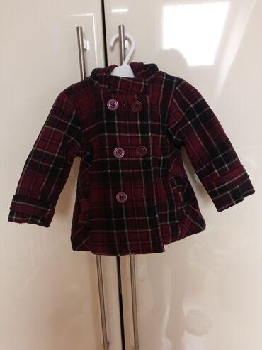Dečija odeća i obuća - Sremska Kamenica: Predivan bordo kaputić za devojčicu br. 74