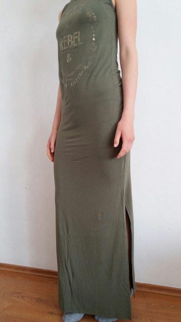 Duga prugasta haljina - Srbija: SHOOTER duga haljina, velicina: L