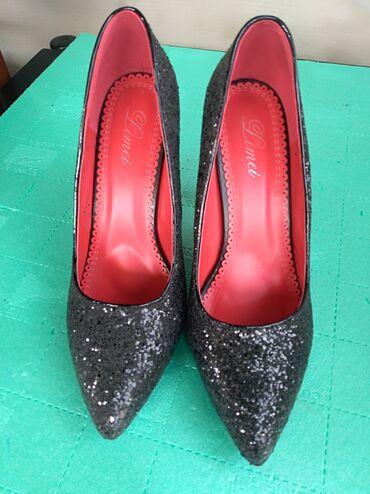 Cipele na stiklu - Srbija: Prelepe cipele na stiklu broj 40. Nove probane jednomJako elegantne