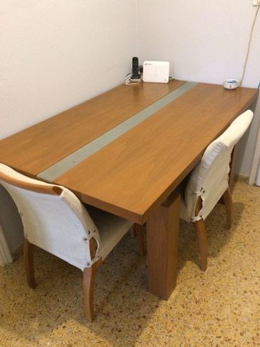 Πωλείται τραπεζαρία με μασίφ βαρύ σε Zografou