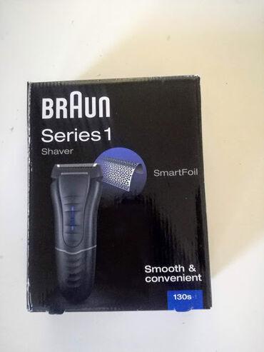 Aparat za brijanje - Srbija: Braun masinica za brijanje/novoNovo u garanciji.series 1/130s.Braun