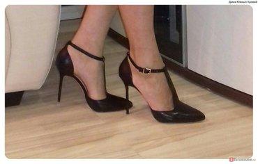 Срочно продаю абсолютно новые туфли производство Турция размер 39 цена в Бишкек