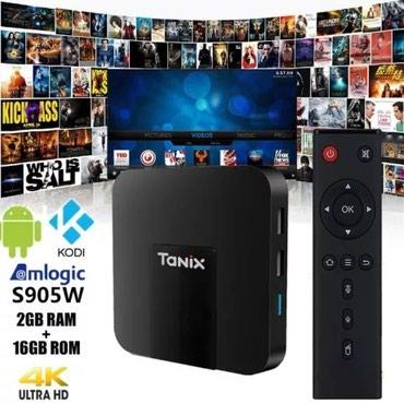 Приставка к телевизору.tx 3mini-A.5видов ТВ в Бишкек