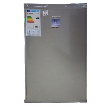 Новый Однокамерный Серый холодильник