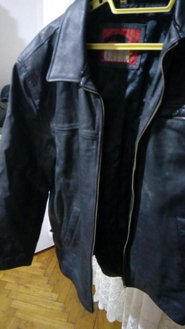 Muska kozna jakna ocuvana