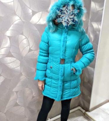 НОВАЯ Зимняя куртка ,на девочку рост 164 в Бишкек