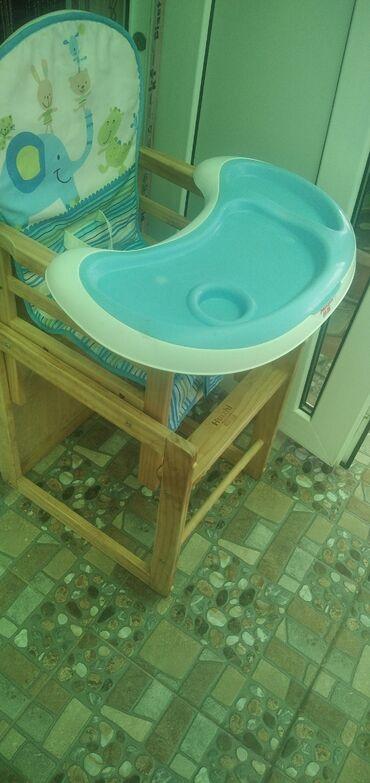 Детский мир - Сокулук: Продаю стульчик для кормления- трансформер ! Состояние отличное