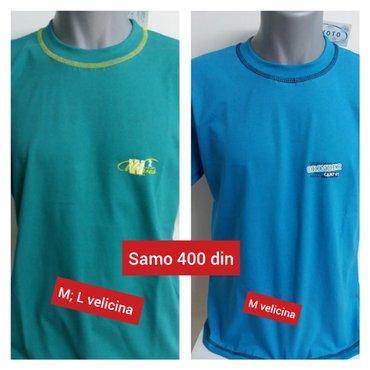 Muske majice domace proizvodnje po ceni od samo 400  din.  Jos malo na - Kikinda